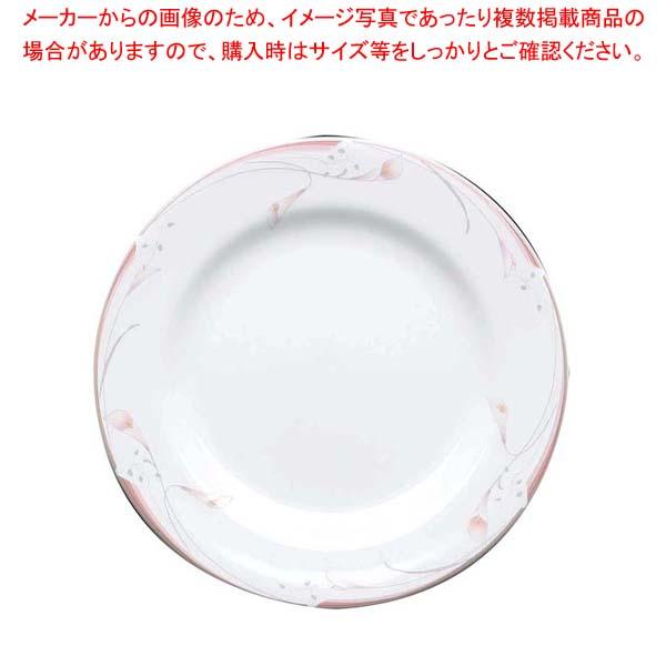 【まとめ買い10個セット品】 フラワーピンク 18cm プレート OFM01-208【 和・洋・中 食器 】