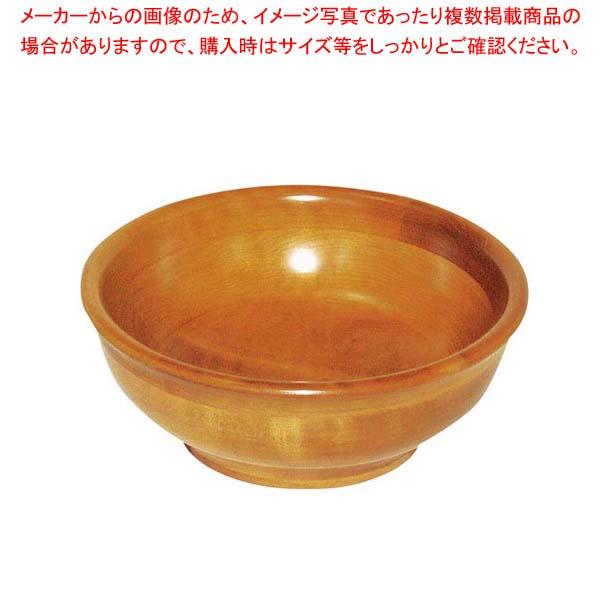 【まとめ買い10個セット品】 コハクカラー AC型 サラダボール AC-14 カエデ材【 和・洋・中 食器 】