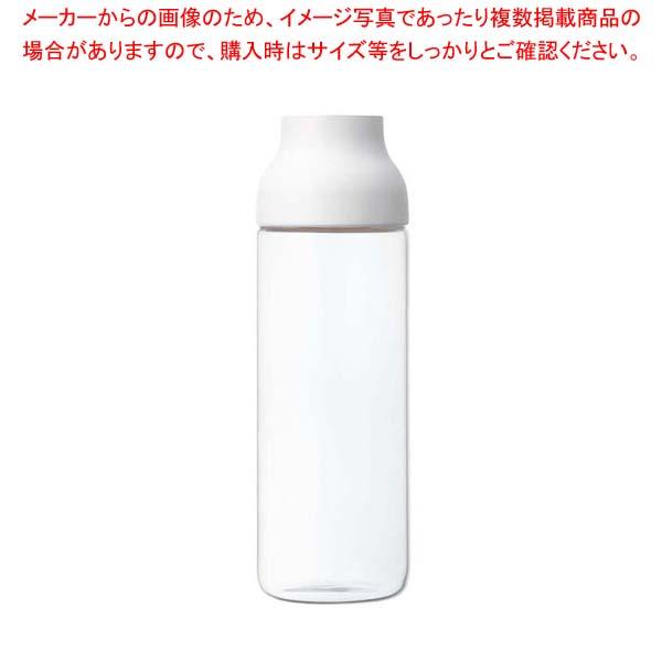 【まとめ買い10個セット品】 カプセル ウォーターカラフェ 1.0L ホワイト 22971【 カフェ・サービス用品・トレー 】