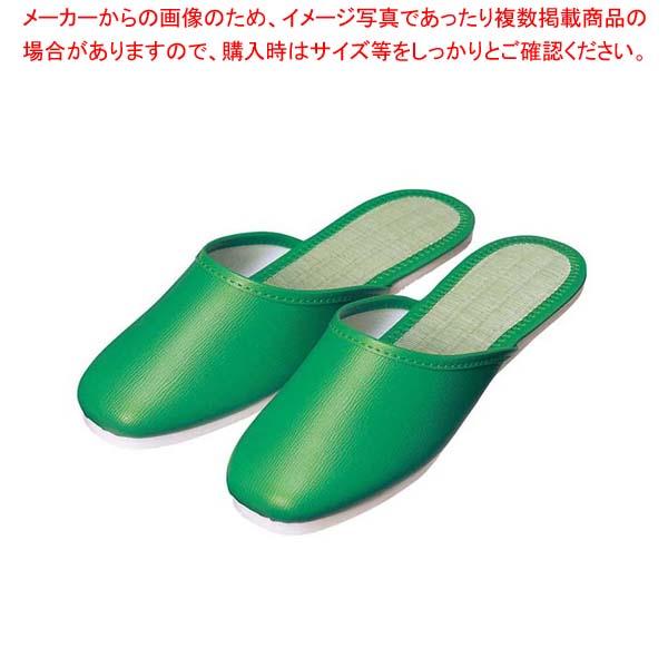 【まとめ買い10個セット品】 スリッパ(白厚底)S-121 L グリーン(019)