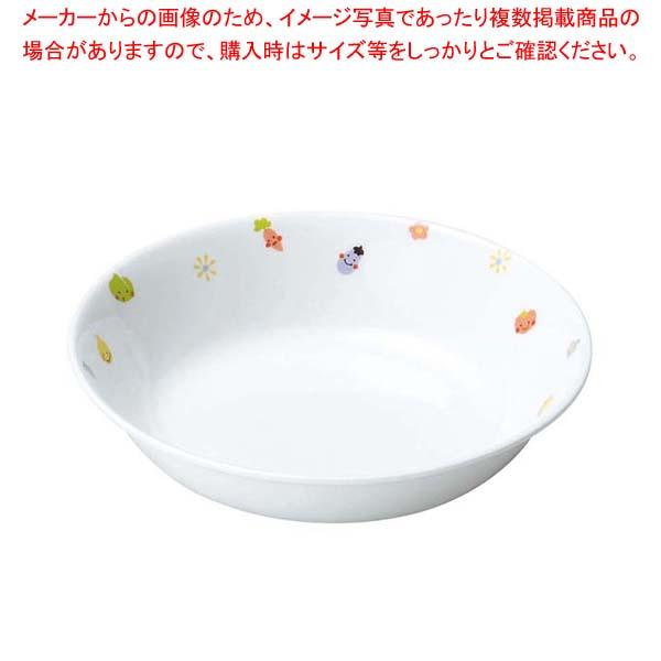 【まとめ買い10個セット品】 リ・おぎそ 子ども食器シリーズ 深皿 16.6cm 1143-1230