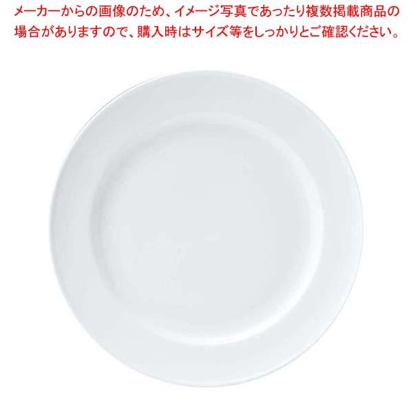 【まとめ買い10個セット品】 おぎそ 軽量高強度磁器 デザート皿 20cm 1603-0000