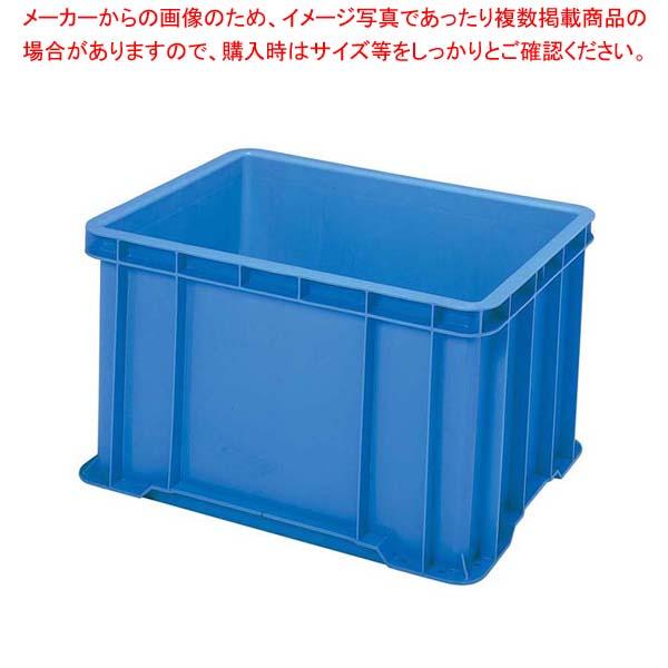【まとめ買い10個セット品】 セキスイ ボックスコンテナー S-100 ブルー PP製【 運搬・ケータリング 】