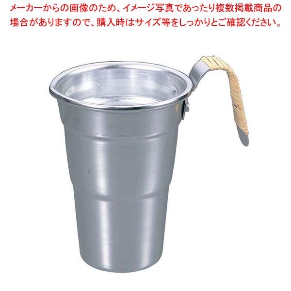 【まとめ買い10個セット品】 アルミ 酒タンポ 4号 籐巻【 加熱調理器 】