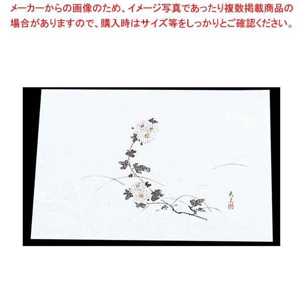 【まとめ買い10個セット品】 四季紙 萬寿(100枚入)M33-119 菊【 料理演出用品 】
