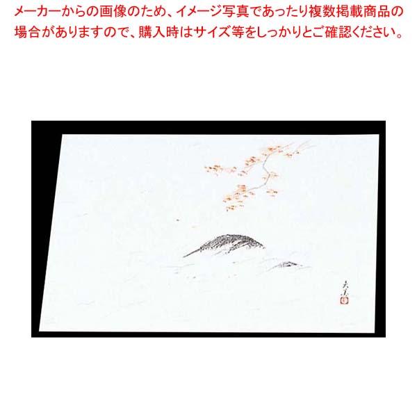 【まとめ買い10個セット品】 四季紙 萬寿(100枚入)M33-123 もみじ狩り【 料理演出用品 】
