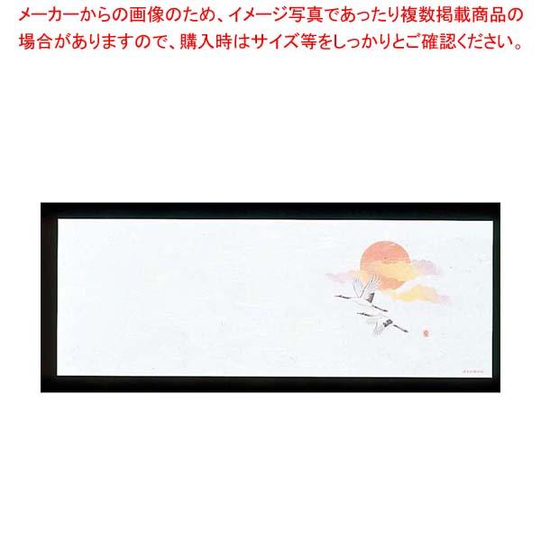 【まとめ買い10個セット品】 遊膳 花暦 おてもとまっと(100枚入)OT-H-10 鶴(オールシーズン)【 料理演出用品 】