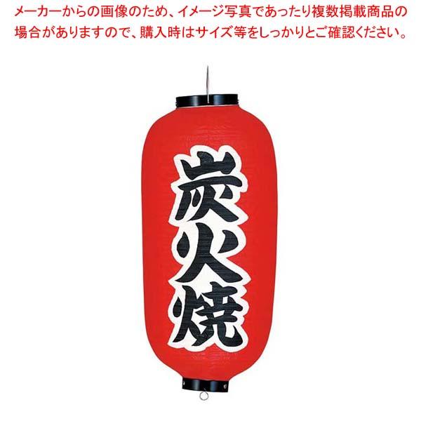 【まとめ買い10個セット品】 ビニール提灯 233 炭火焼 9号長