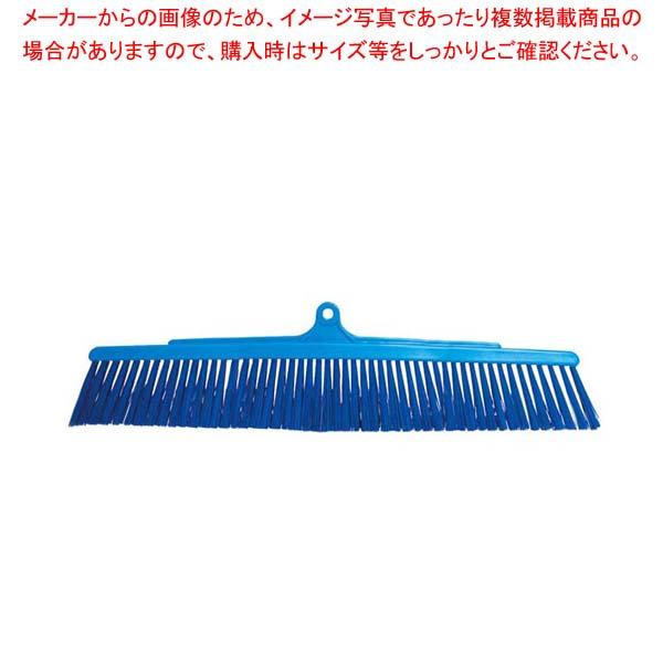 【まとめ買い10個セット品】 バーキュート衛生管理用ほうき 幅広ソフトタイプ用スペア 青626052【 清掃・衛生用品 】