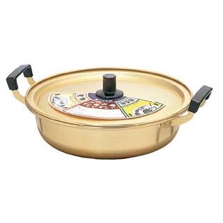 【まとめ買い10個セット品】 アルマイト 浅型鍋 28cm 4.5L