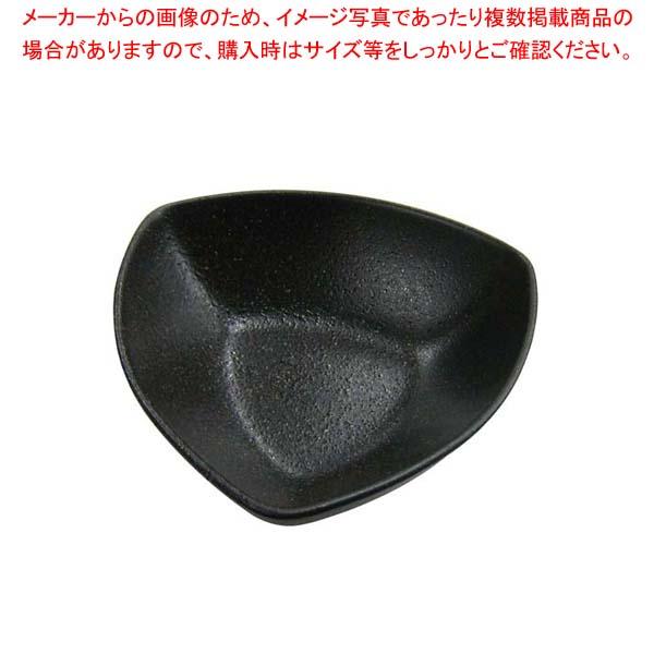 【まとめ買い10個セット品】 天目砂鉄 三角深ボール 17.5cm