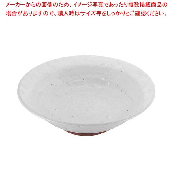 【まとめ買い10個セット品】 モダンホワイト リム尺鉢【 和・洋・中 食器 】