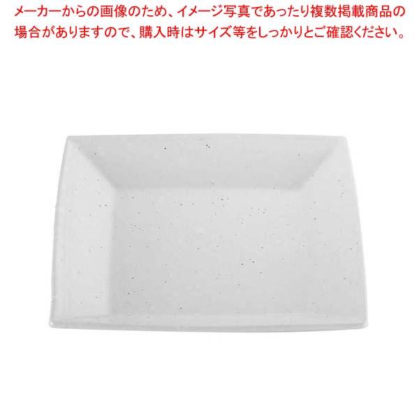 【まとめ買い10個セット品】 モダンホワイト 正角盛皿