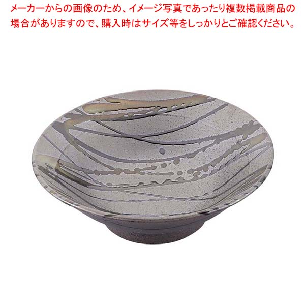 【まとめ買い10個セット品】 和食器コレクション 黒伊賀十草 丼 8寸 【 業務用】