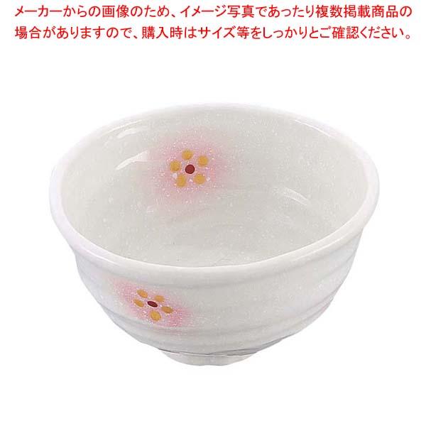 【まとめ買い10個セット品】 和食器コレクション ピンク白吹小花 丼 4寸 【 業務用】