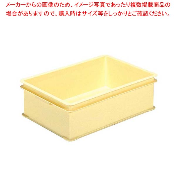 【まとめ買い10個セット品】 サンコー E型 番重 クリーム PP【 運搬・ケータリング 】