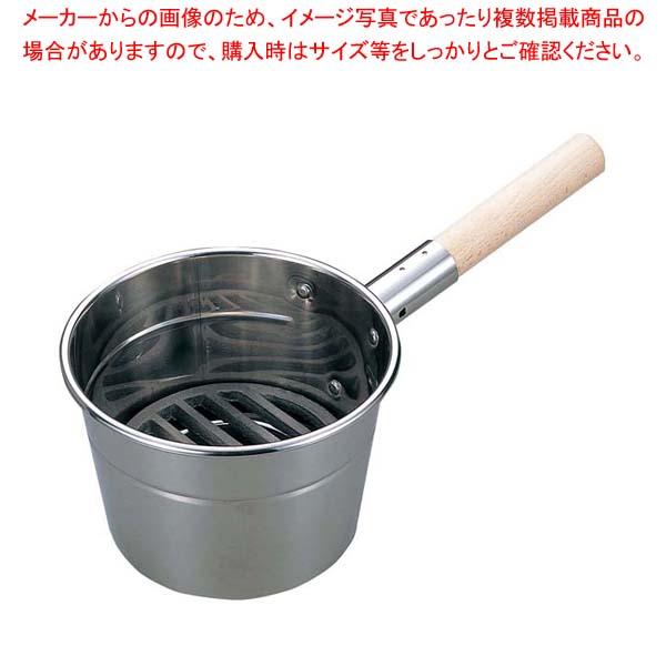 江部松商事 / EBM 18-8 火起し 24cm【 焼アミ 】