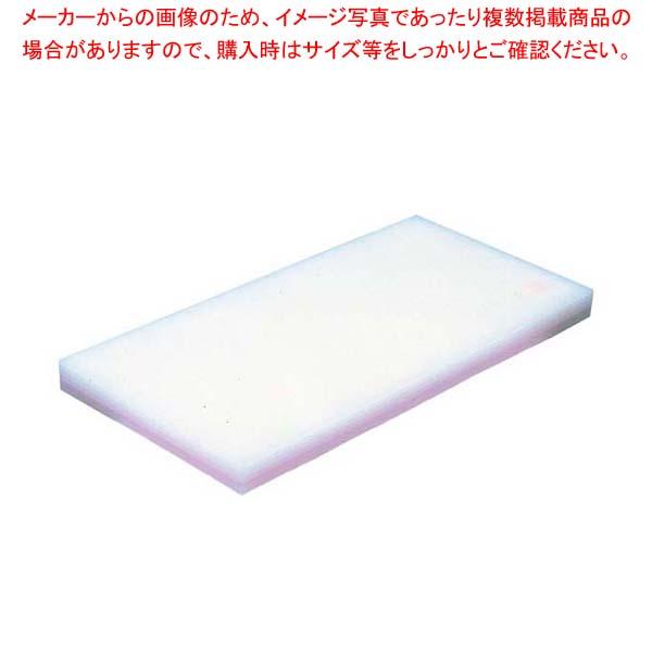 ヤマケン 積層サンド式カラーまな板 6号 H43mm ピンク【 まな板 カッティングボード 業務用 業務用まな板 】