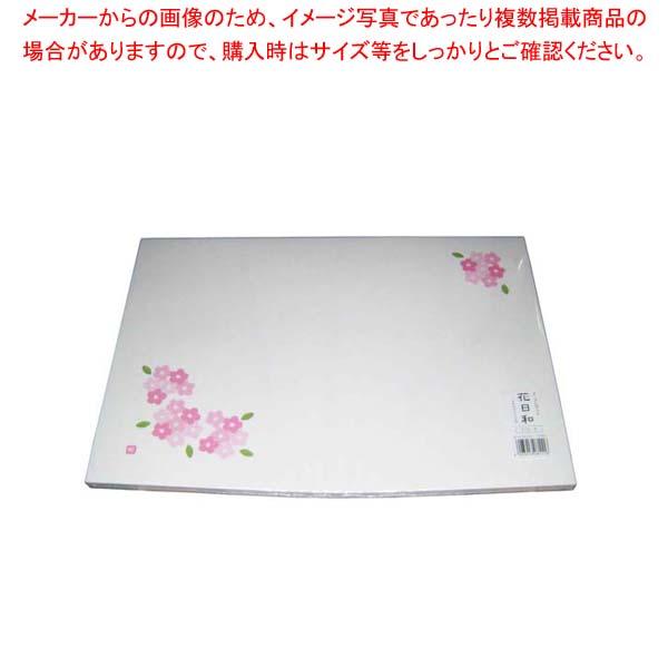【まとめ買い10個セット品】 和紙テーブルマット「花日和」Mサイズ(100枚入)A-3-4「桜」