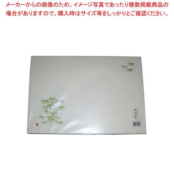 【まとめ買い10個セット品】 和紙テーブルマット「花日和」Mサイズ(100枚入)A-4-6「竹林」