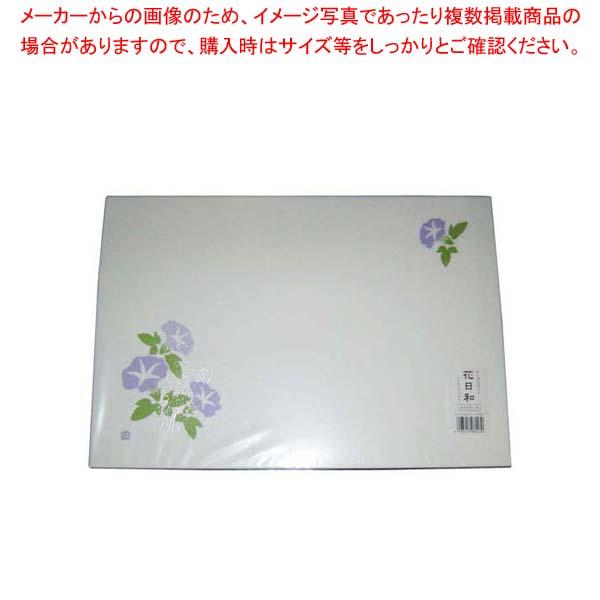 【まとめ買い10個セット品】 和紙テーブルマット「花日和」Mサイズ(100枚入)A-7-9「朝顔」
