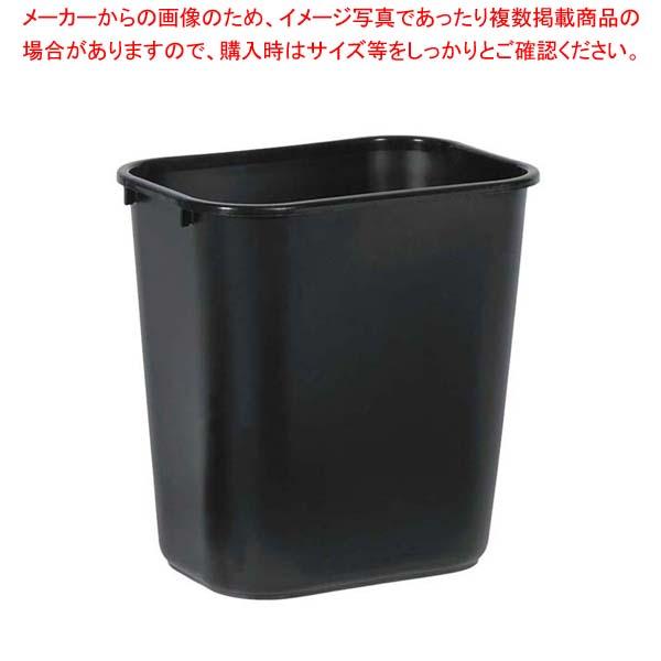 【まとめ買い10個セット品】 ラバーメイド ソフトウェイトバスケット 2956(中型)ブラック
