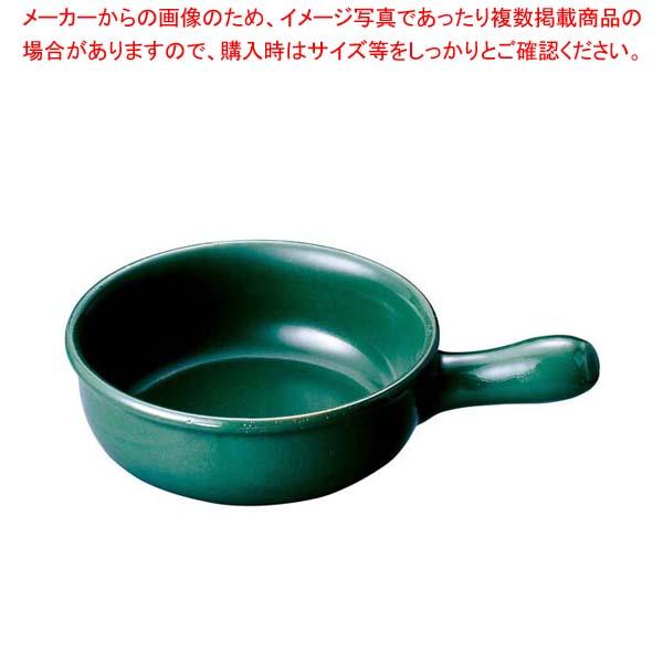 【まとめ買い10個セット品】 ヴァルカーニャ 片手キャセロール 16cm VL-116 緑【 オーブンウェア 】
