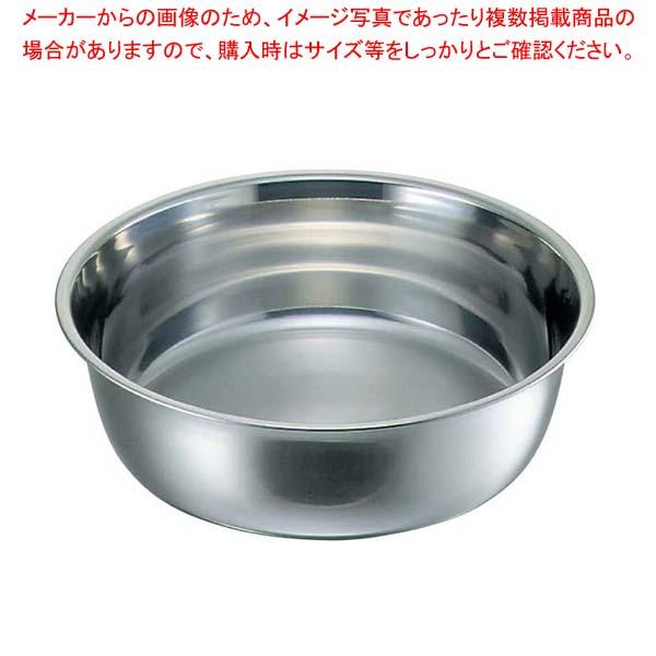 【まとめ買い10個セット品】 クローバー 18-8 料理桶(洗い桶)36cm