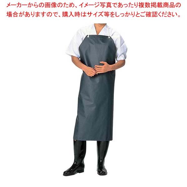 【まとめ買い10個セット品】 シャバルバ 前掛 胸付 674 L 紺