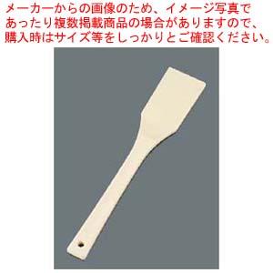 【まとめ買い10個セット品】 EBM TPX樹脂 抗菌耐熱 角スパテル 400