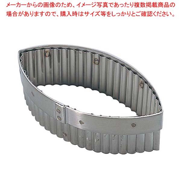 【まとめ買い10個セット品】 デバイヤー 18-10 手無木の葉ギザ 抜型 3316-12