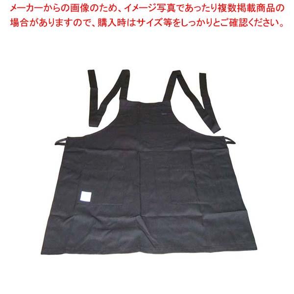 【まとめ買い10個セット品】 エコエプロン CT2415-9 フリー ブラック