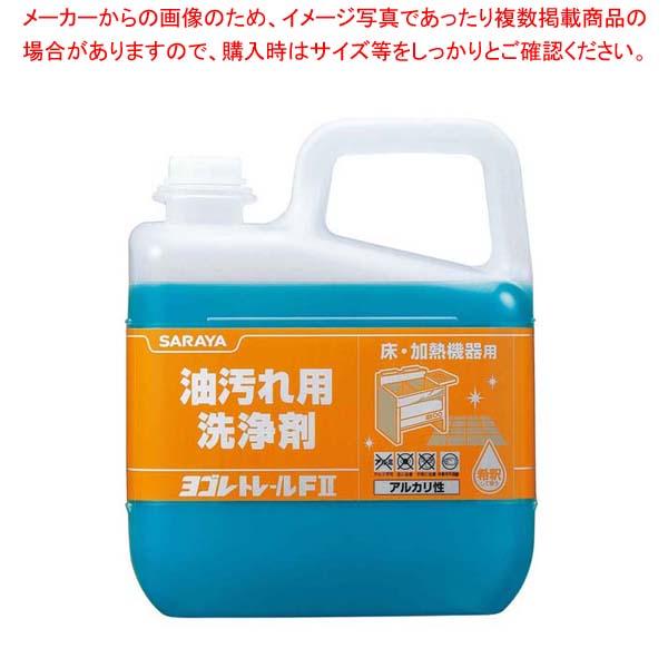 【まとめ買い10個セット品】 油汚れ用洗浄剤 ヨゴレトレールFII 20kg 51395 sale