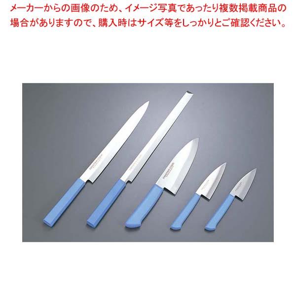 【まとめ買い10個セット品】 マスターコック 抗菌カラー庖丁 小出刃片刃 MCAK120 ブラウン