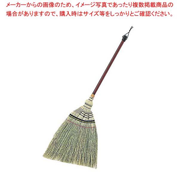 【まとめ買い10個セット品】 特選 手編みほうき 短柄 AZ112