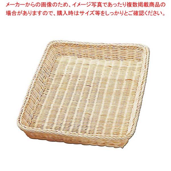 【まとめ買い10個セット品】 心コート 籐製 パンカゴ Y-1-N 295×420×30