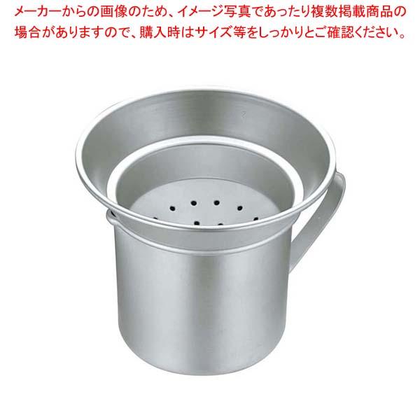 【まとめ買い10個セット品】 アルミ 揚玉入 大(φ235)