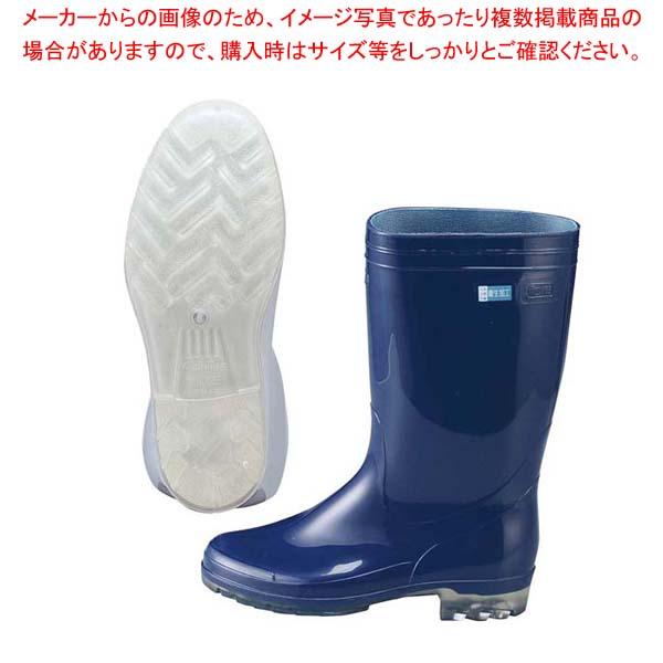 【まとめ買い10個セット品】 アキレス 長靴 タフテックホワイト62(透明底)ブルー 22.5cm