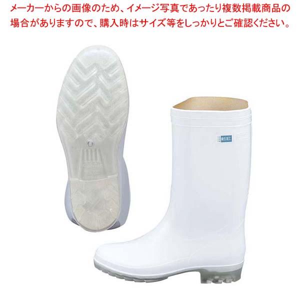 【まとめ買い10個セット品】 アキレス 長靴 タフテックホワイト62(透明底)白 23.5cm