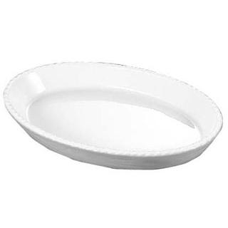 【まとめ買い10個セット品】 バウシャ 小判型 グラタン皿 784-22 ホワイト