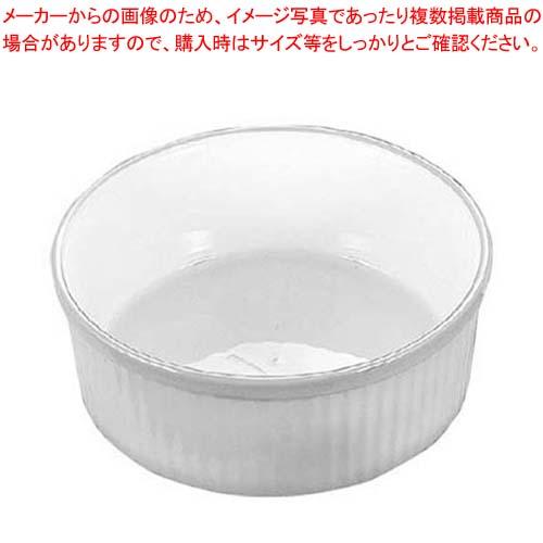 【まとめ買い10個セット品】 バウシャ スフレ(ストライプ)607-13 ホワイト【 オーブンウェア 】:厨房卸問屋 名調