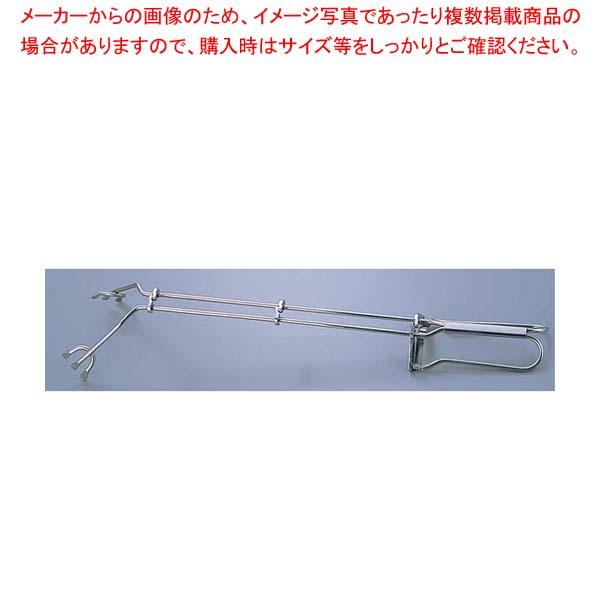 【まとめ買い10個セット品】 ゲフ 18-10 グリルトング Art.21500 全長530 【 業務用 トング 】