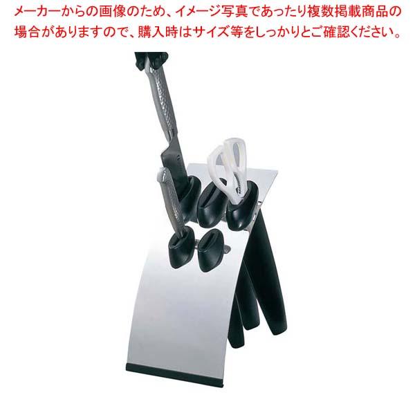 【まとめ買い10個セット品】 GS 18-0 シンプルタイプ ナイフブロック ブラック
