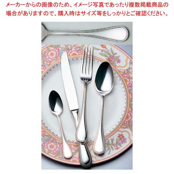 【まとめ買い10個セット品】 LW 18-10 #18400 フレンチアクセント デザートナイフ(H・H)ノコ刃付