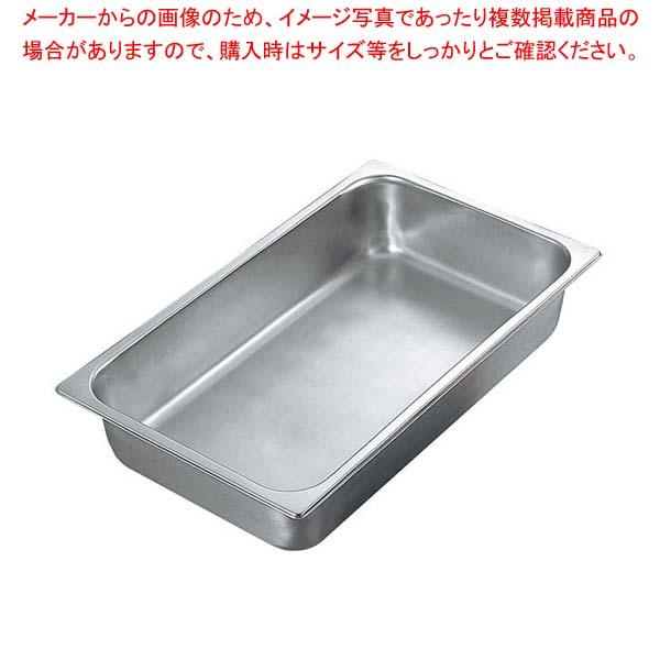 【まとめ買い10個セット品】 サネックス ホテルパン 13818A 2/4(H100)