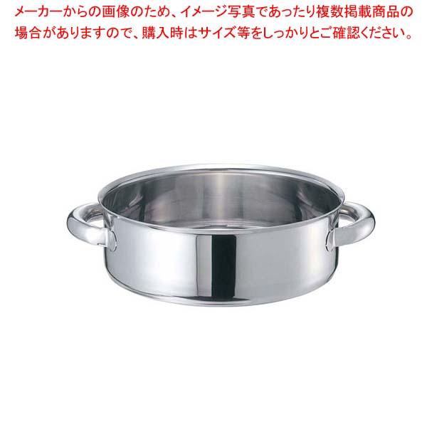 【まとめ買い10個セット品】 EBM モリブデンジII 外輪鍋 45cm 蓋無【 IH・ガス兼用鍋 】