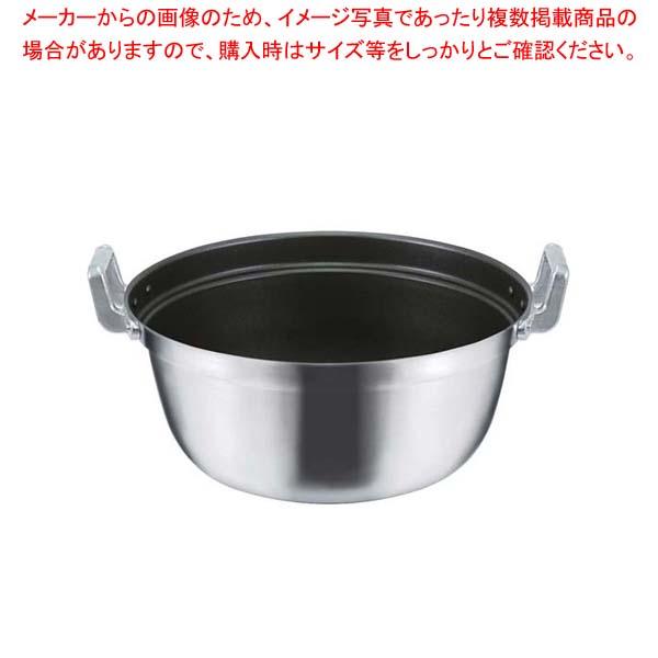 【まとめ買い10個セット品】 EBM モリブデンジIIプラス 料理鍋 36cm ノンスティック加工【 IH・ガス兼用鍋 】