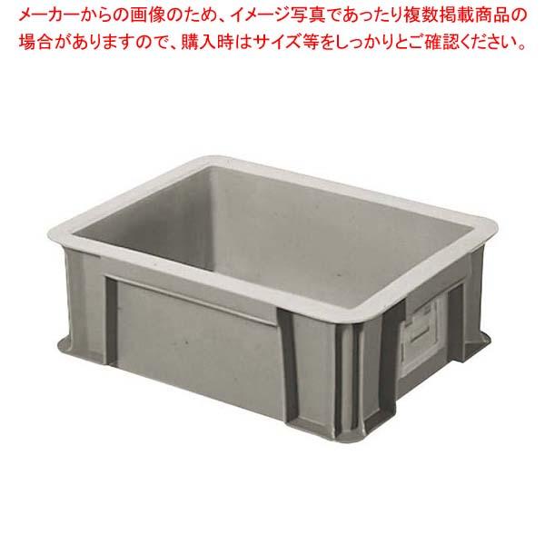【まとめ買い10個セット品】 セキスイ ボックスコンテナー T-9 グレー【 運搬・ケータリング 】