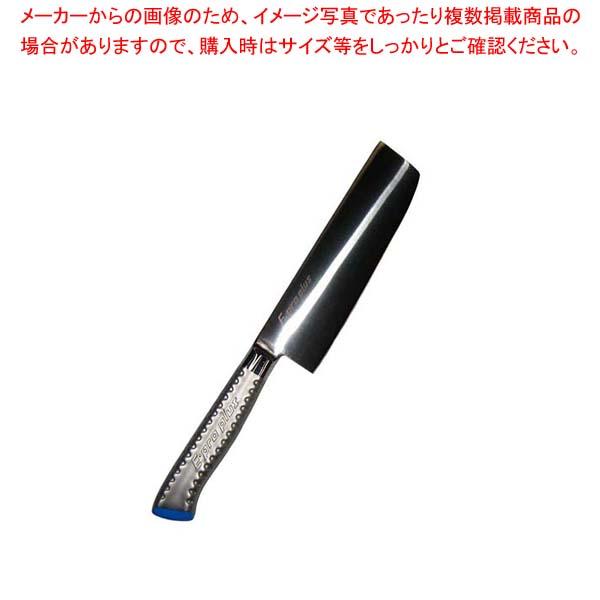 【まとめ買い10個セット品】 EBM E-pro PLUS 薄刃型 16.5cm ブルー【 庖丁 】