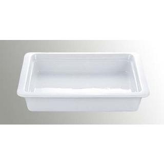 【まとめ買い10個セット品】 バレンチナ オーブンウェア ガストロノームパン 2/3 H65mm ホワイト